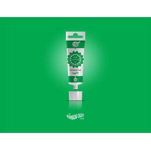 Leaf Green ProGel - profesionální potravinářská gelová barva v tubě (listově zelená) - Rainbow Dust