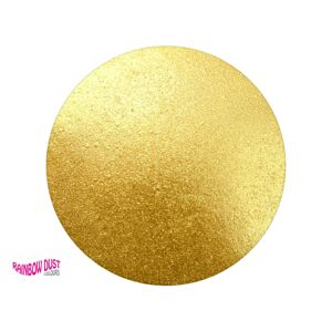 Prachová farba metalická Edible Silk - Golden Sands (Zlaté piesky) - Rainbow Dust