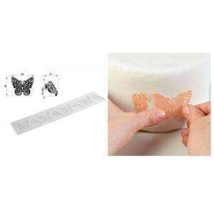 Silikónová formička Motýlia čipka Silikomart - Silikomart