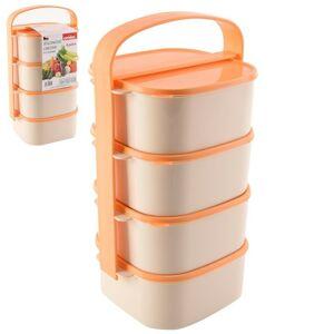 Jídlonosič plast 4x1,15 l ALMI - ORION domácí potřeby