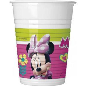 Plastové kelímky myška Minnie  Happy Helpers - 8 ks - GoDan