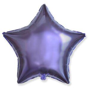 Balón fóliový 45 cm Hviezda LILA - FLEXMETAL