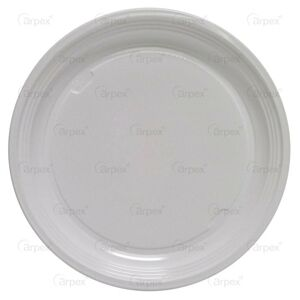 Taniere jednorazové biele 22 cm 6 ks - Arpex