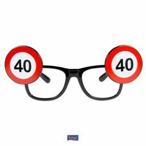 Brýle dopravní značka 40 - Folat