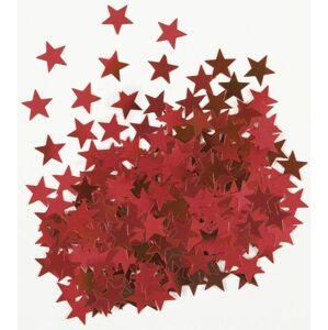 Konfety na stůl hvězdy červené - 14,7g - UNIQUE