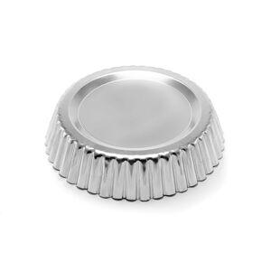 Tartaletka střední - forma na koláč střední hladké dno 120/20mm -