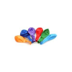 Farebné metalické balóny 25 cm, 6 ks v bal. - Arpex