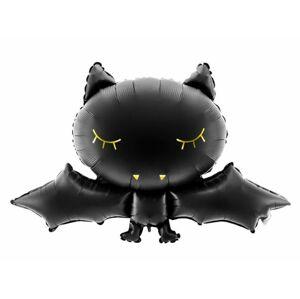 Balón foliový netopýr - Halloween 80x52 cm - PartyDeco