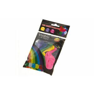 Svietiace balóniky s LED svetlom - 5 ks mix farieb - YIWU3