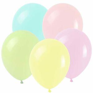 Balonky MAKRONKY MIX 25 cm pastelové - 8ks - Arpex