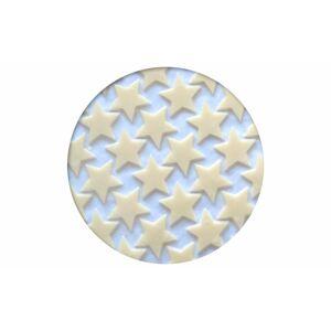 Čokoládová dekorácie Hviezdy biele - 408 g / 702 ks - Barbara Luijckx