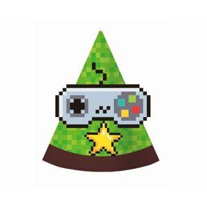 Párty kloboučky - Minecraft - 6 ks - GoDan