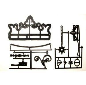 Patchwork vykrajovačka Kráľovské koruny - Patchwork Cutters