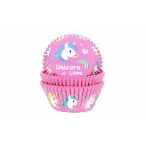 Cukrářské pečící košíčky Jednorožec - Unicorn Love - 50 ks - House of Marie