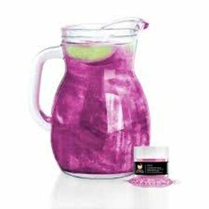 Jedlé třpytky do nápojů - růžová - Pink Brew Glitter® - 4 g - Brew Glitter