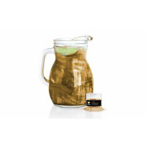 Jedlé třpytky do nápojů - zlatá - Gold Brew Glitter® - 4 g - Brew Glitter