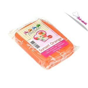 Marcipán oranžový Sunset Orange 250 g - FunCakes