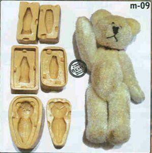 Formička na modelovanie - Medvedík 3D - živica -