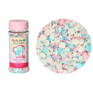 Cukrová dekorácia - zdobenie Odhalenie pohlavia - Chlapec alebo dievča? - 65 g - FunCakes